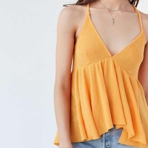 Urban outfitters Lola thermal babydoll tank top